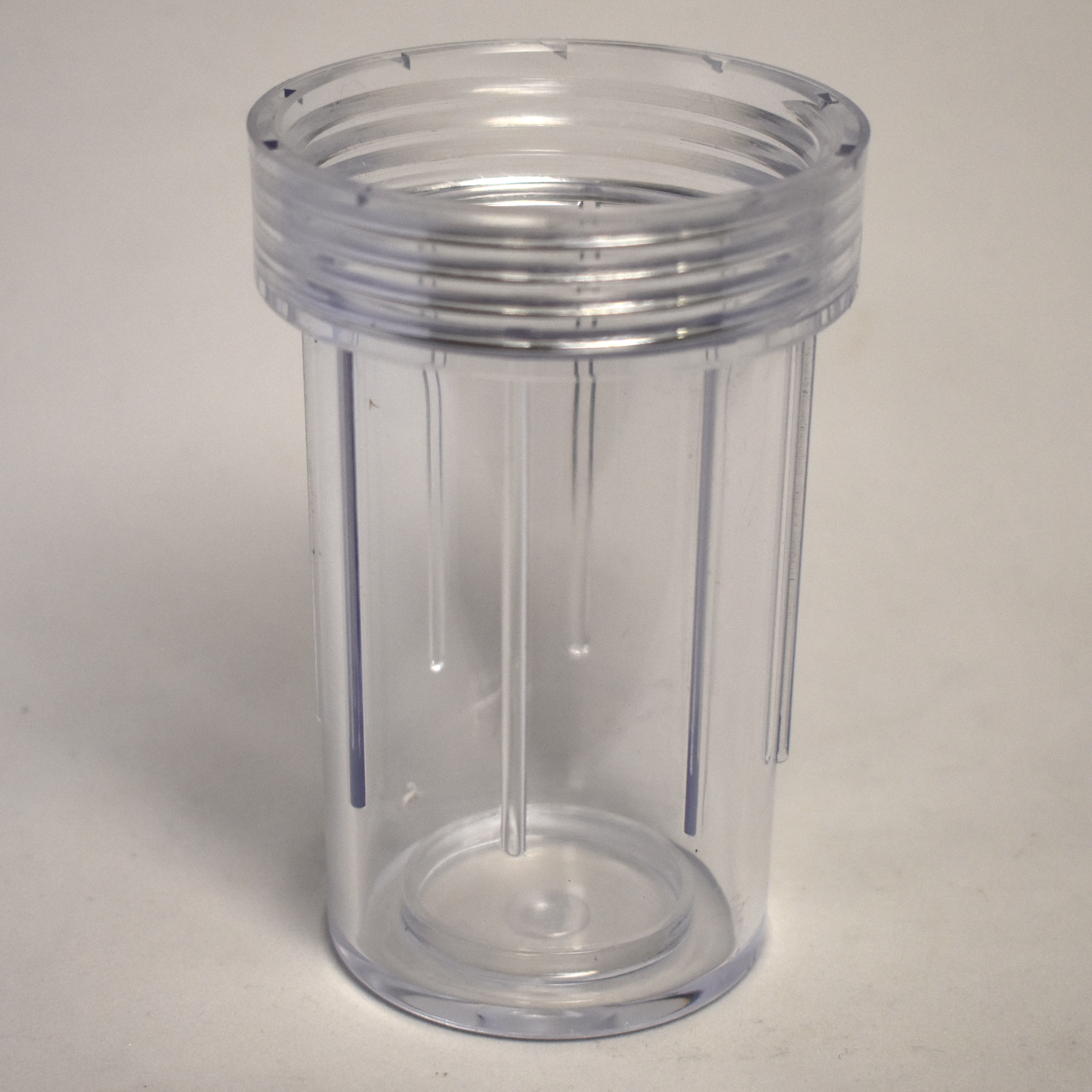 "Clear Bowl for GNC 3/4"" or 1"" Suction Filter - LS-210100"